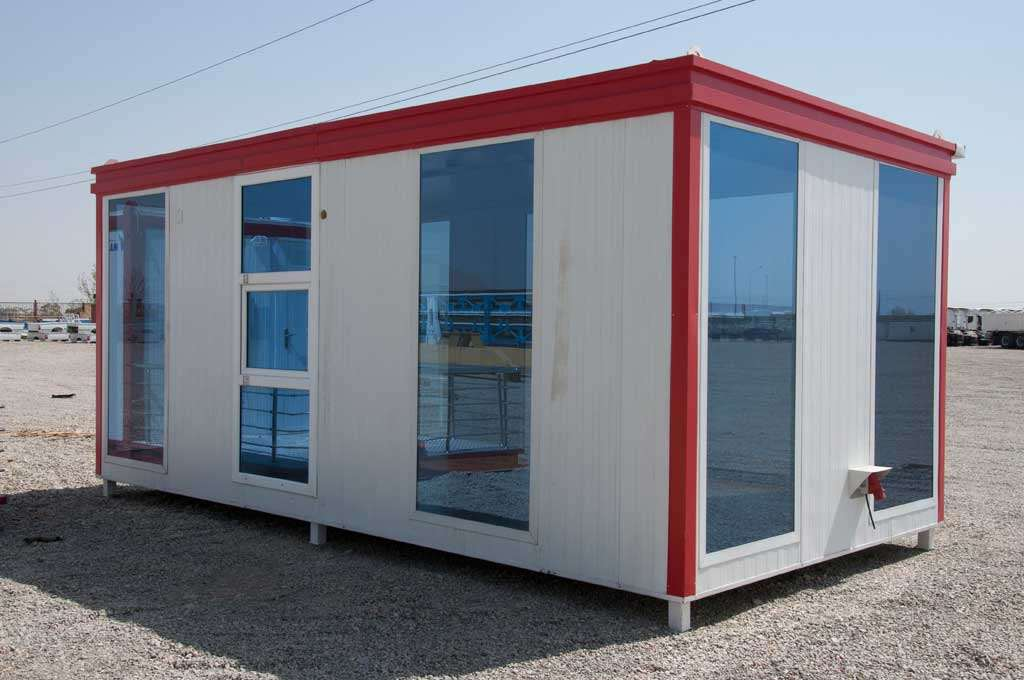 Pre-fabricated portable cabins, Conex, Toilets and Tents…